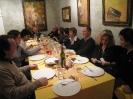 cena post inaugurazione mostra Haupala  Circolo Novecento