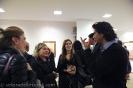 durante l'inaugurazione mostra Pescara