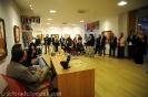 pubblico all'inaugurazione mostra Pescara